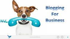 Like puppies ;-) blogging for business is a lot of fun but requires a lot of work and attention. Is it worth it? Yes!
