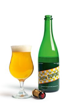 Saison Dupont Next on my 'need to try' list. Just scored #2 on a World's 10 Best Beers.