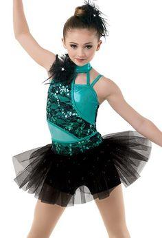 Weissman Asymmetrical Biketard Glitter Skirt In 2020 Dance Outfits Dance Costumes Jazz Dress