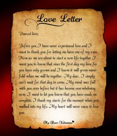 12 Best love letter images | Love of my life, Quotes love, Thoughts