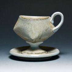 celadon cups   James Tingey Celadon Cup & Saucer
