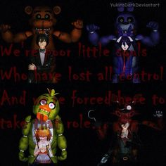 [MMD] Five Night's at Freddy's by YukiraDark on @DeviantArt The Living Tombstone