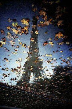 Un automne aux pieds de la Tour Eiffel