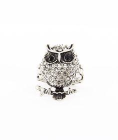 owl ring.