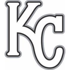 Kansas City Royals Cap Logo Iron On Transfer Heat Model
