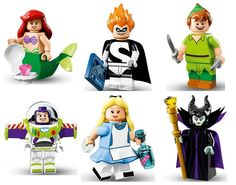 A peek at the 18 new Disney LEGO Minifigures - but guess who's notably missing!
