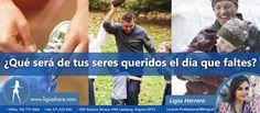 Don't forget you love ones when an unfortunate event happens. Read our new post  No olvides proteger a los tuyos, nunca sabes la vida como te puede cambiar. Lee nuestro nuevo artículo  http://ligiashare.com/2017/11/09/7-razones-por-las-cuales-no-necesitas-un-seguro-de-vida/  #lifeinsurance #insurance #health #salud #healthinsurance #seguros #segurodevida #seguromedico #leesburg #virginia #allstate #familia #niños #life