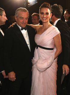 Robert De Niro, Penélope Cruz/舞台裏のペネロペ・クルス&ロバート・デ・ニーロ #Oscars