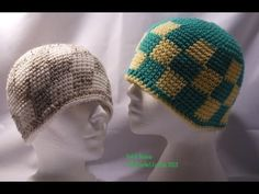 Patch Beanie Hat Tutorial 2013-01-21. Many patterns from The Crochet Zombie: http://www.thecrochetzombie.com/hatsbeanies.html