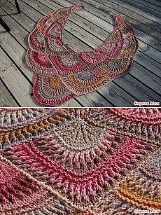 Необычная шаль - Вязание - Страна Мам
