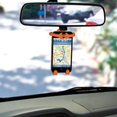 Bondi - holds your cell phone exactly where you can see; great idea especially when using phone as GPS- this would be a great stocking stuffer