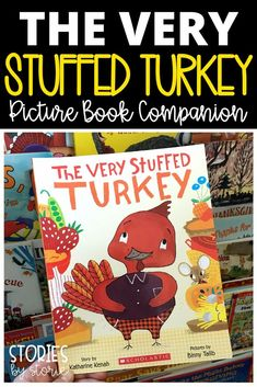 Are you still looking for a great read aloud before Thanksgiving? You should grab a copy of The Very Stuffed Turkey by Katharine Kenah! This is a great story about a turkey who just can't say no to one more meal with a friend. I want to share some activities you can pair with this Thanksgiving book.