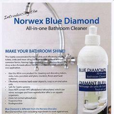 norwex blue diamond cleaner  LOVE This stuff! http://www.norwex.biz/publicstore/stores/SummerWalters/AM/default.aspx
