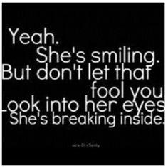 Look into my eyes; i'm breaking inside #brokenheart - @fashfame- #webstagram