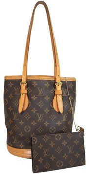 Louis Vuitton Pre-owned Bucket With Pouch Shoulder Bag $490
