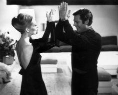 """Faye Dunaway con Marcello Mastroianni in """"Amanti"""" di Vittorio De Sica (1968)"""