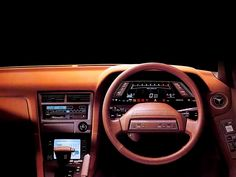 1986 Toyota Soarer - right up near the pinnacle of 80's digital dashes.
