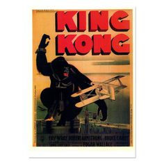 King Kong Film Print, 12€, now featured on Fab.