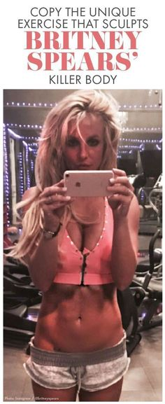 Britney Spears is looking fit as ever these days! Check out this unique, compound move from her trainer that works multiple muscle groups and joints at once and therefore burns more calories and fat. Fitness Diet, Fitness Goals, Health Fitness, Woman Fitness, Fitness Photos, Fitness Humor, Muscle Fitness, Female Fitness, Cardio