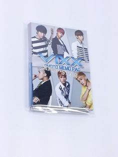 VIXX Portable Photo Memo Pad KPOP Korean K Pop Star
