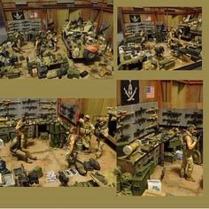 """Enforcement to democracy""  By: Sergey Kovalyov From: Love Scale Models  Scale 1/35  #dioramas #dio #usarmy #army #diorama #udk #usinadoskits #hobby #passatempo #art #miniart #arte #miniarte #plastimodelismo #plastimodelism #modelkit #plastickit #wwii #iigm #guerra #war #soldiers #soldados #usa #eua"