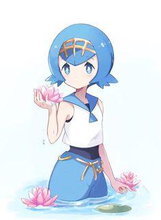 Pokemon Waifu, Pokemon Alola, Pokemon People, Type Pokemon, Play Pokemon, Pokemon Fan Art, Cool Pokemon, Pokemon Gym Badges, Pokemon Moon And Sun