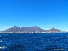 Ciudad del Cabo desde el mar, Sudáfrica