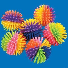 colorful picky balls