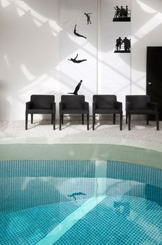 Bab Hotel by Studio Hopscotch. Marrakech. Different Poolside feel.