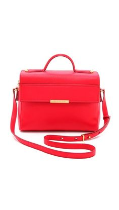 Marc by Marc Jacobs Hail to the Queen Diana Satchel. Well, I don't like red that muc but how can you resist this super nice red bag?
