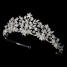 Neidy Swarovski Crystal and White Pearl Wedding Bridal Tiara, http://www.amazon.com/dp/B00HRCD3ZS/ref=cm_sw_r_pi_awdm_bHkfvb0134SFK