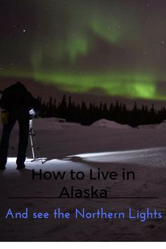 Guide to living in Alaska and seeing the Northern Lights- livein10countries. Have you ever dreamed of the magic of the aurora in the night sky? Alaska is fascinating and here's everything you need to know about living there and seeing the magic. This is about: travelling the world, aurora borealis, how to see the Northern Lights, Northern lights, Alaska, how to live abroad, photo of the northern lights, husky sledging, life in the US, moving abroad, study abroad, how to study in the US.