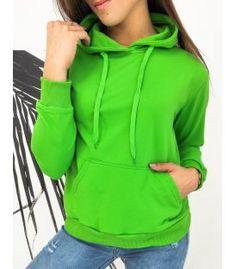 Zelená dámska mikina Modivos Dog Walking, Green Colors, Jogging, Hooded Jacket, Sporty, Sweatshirts, Cotton, Jackets, Composition