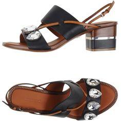 Roberto Cavalli Sandals ($545) ❤ liked on Polyvore featuring shoes, sandals, black, buckle shoes, black buckle sandals, roberto cavalli sandals, black rhinestone sandals and rhinestone shoes