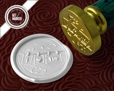 WS0088 XOXO Wax Seal Stamp by Get Marked