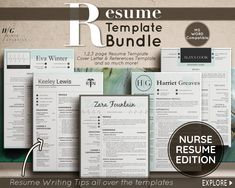 Excited to share the latest addition to my #etsy shop: Registered Nurse Resume Template, Nurse CV Template for Word, Nurse Resume Template Word, Resume and cover letter, Nurse, RN Resume Template Nursing Resume Template, Best Resume Template, Creative Resume Templates, Cv Template, Planner Template, Free Planner, Rn Resume, Student Resume, Registered Nurse Resume
