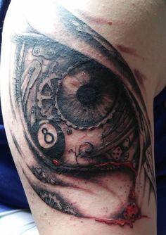 oko szczescia tatuaż