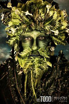 How I envision Oberon King of the faerie folk