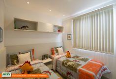 Apartamento decorado 2 quartos do Parque Dunas do Sol na Estrada da Maioba - São José de Ribamar - MA - MRV - Quarto das crianças.