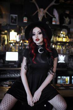 Model/MUA: Dani Divine Clothes: Killstar Photo: Phantom Photography Welcome to Gothic and Amazing  www.gothicandamazing.com