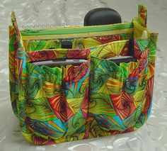 Porta-Pockets Purse Insert Pattern-handbag Patterns-StudioKat Designs