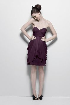 bridesmaid dress; Watters style 7594