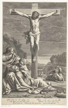 Kruisiging van Christus, Cornelis Bloemaert (II), 1633 - 1692