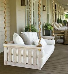 Porch Swing Cover White Mattress Outdoor Bed Twin Lookingformattresseson