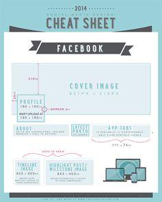 Social Media Cheat Sheet – Facebook 2014