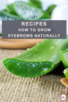 Not everyone knows how to grow eyebrows naturally. What is more, most people do not think that something like that is even possible. To save you from all the troubles of research we have gathered here all the perfect natural remedies that will help you grow out your brows in the shortest period possible. #makeup #makeuplover #makeupjunkie #groweyebrows