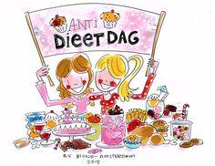 Anti Dieetdag by Blond-Amsterdam
