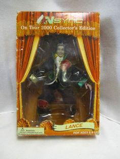 Nsync No Strings Attached Marionette Doll Lance Bass
