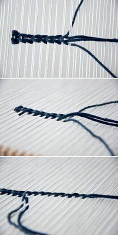 Twining Weave | The Weaving Loom