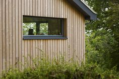 Larch Cladding in Lewes Wooden Cladding Exterior, Larch Cladding, House Cladding, Cedar Shiplap, Timber Garage, Building Front, English House, Garden Buildings, Exterior Remodel